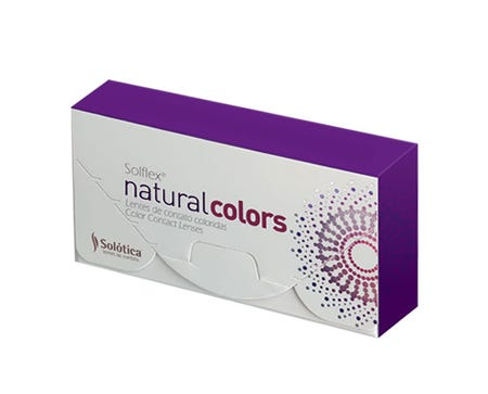 Solflex Natural Colors Monthly - Esmeralda - 2 lenses