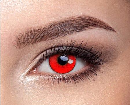 Solflex Color Hype Vermelha - pack of 2 lenses