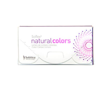 Solflex Natural Colors Monthly - Quartzo - 2 lenses