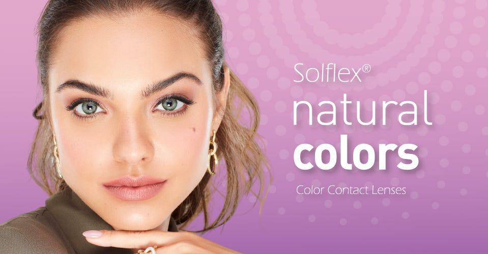 Solotica Solflex Natural Colors Colored Contacts