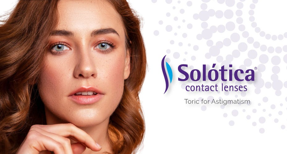 Solotica Toric For Astigmatism Colored Contacts